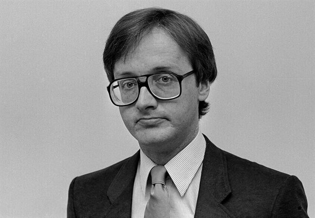 Shawn Waddell is shown in a 1984 photo. Waddell, a longtime senior editor at The Canadian Press who was known for his irreverent sense of humour and encyclopedic knowledge of many subjects, has died. He was 62. THE CANADIAN PRESS/CP