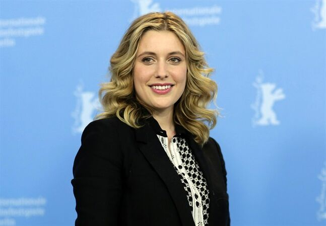 FILE - This Feb. 14, 2013 file photo shows actress Greta Gerwig at the photo call for the film