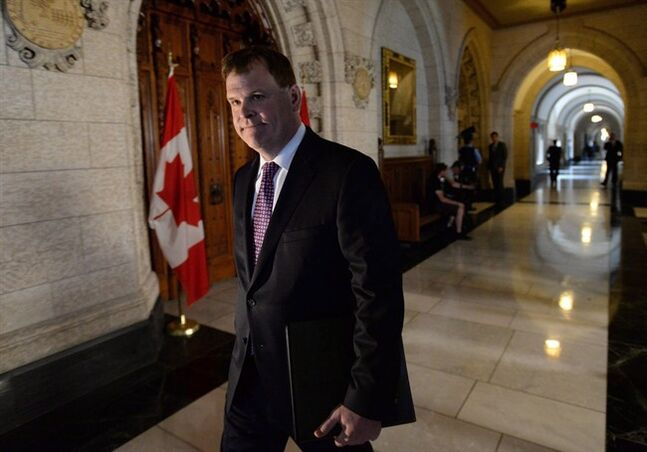 Minister of Foreign Affairs John Baird is pictured in Ottawa on May 26, 2014. THE CANADIAN PRESS/Sean Kilpatrick