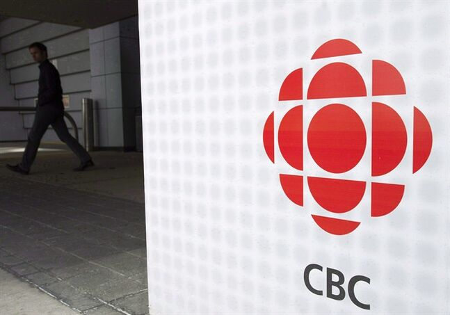 A man leaves the CBC building in Toronto, April 4, 2012.A CBC proposal to shut down in-house production of documentaries has sparked an outcry, with top personalities like Peter Mansbridge and David Suzuki speaking out against the plan. THE CANADIAN PRESS/Nathan Denette