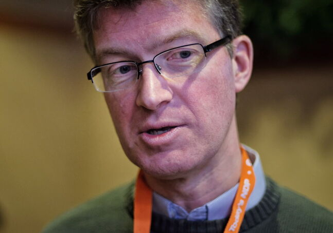 Justice  Minister Andrew Swan