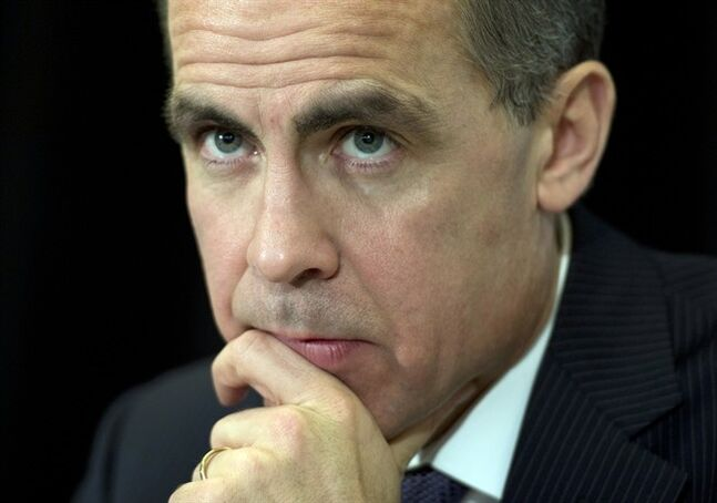 Bank of Canada Governor Mark Carney listens to a question at the Richard Ivey School of Business in London, Ont. on Monday February 25, 2013. It will take more than tough new regulations to restore trust in the banking system in the wake of the financial crisis, said Carney. THE CANADIAN PRESS/Frank Gunn