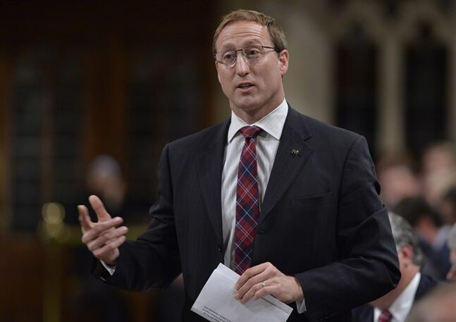 Justice Minister Peter MacKay responds to a question during Question Period in the House of Commons Tuesday June 17, 2014 in Ottawa. THE CANADIAN PRESS/Adrian Wyld