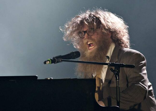 Singer and songwriter Ben Caplan.