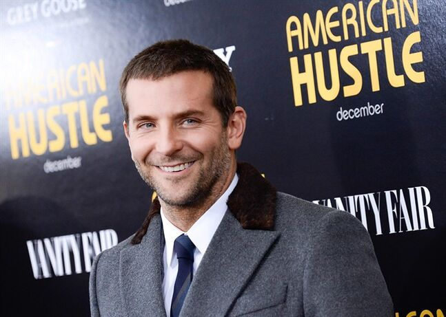 FILE - This Dec. 8, 2013 file photo shows actor Bradley Cooper at the premiere of