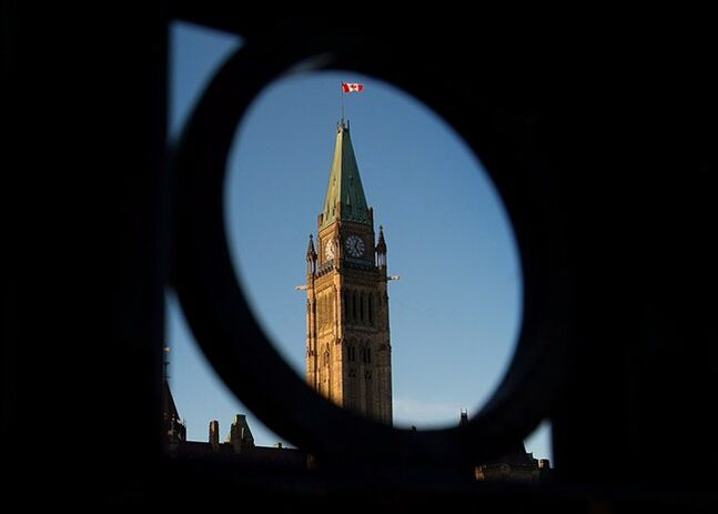 Parliament Hill in Ottawa is shown on Tuesday, October 29, 2013. THE CANADIAN PRESS/Sean Kilpatrick