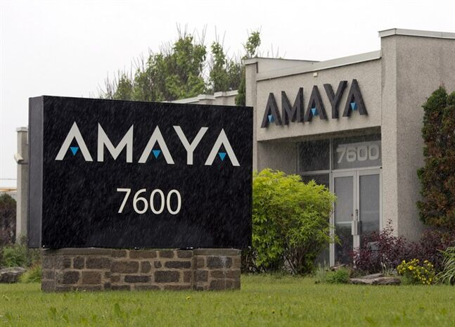 The Amaya Gaming Group headquarters are seen Friday, June 13, 2014 in Montreal. The company has acquired Pokerstars and Full Tilt Poker for $4.9 billion.THE CANADIAN PRESS/Ryan Remiorz