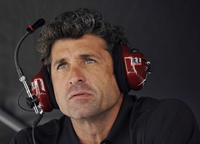 Driver actor Patrick Dempsey looks on Oct. 18, 2013, in Braselton, Ga.THE CANADIAN PRESS/AP, Rainier Ehrhardt