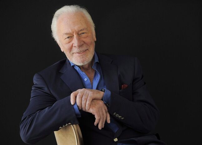 In this July 25, 2013 photo, Christopher Plummer poses for a portrait in Beverly Hills, Calif. THE CANADIAN PRESS/AP, Chris Pizzello/Invision