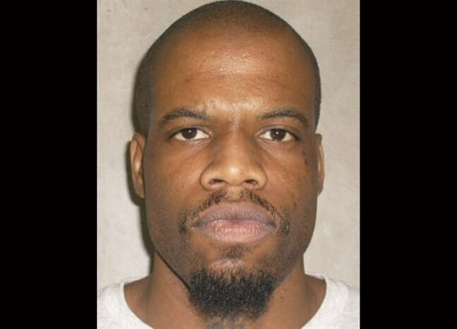 FILE - This June 29, 2011 file photo provided by the Oklahoma Department of Corrections shows Clayton Lockett. Oklahoma prison officials halted the execution of Lockett Tuesday, April 29, 2014, after the delivery of a new three-drug combination failed to go as planned.. (AP Photo/Oklahoma Department of Corrections, File)