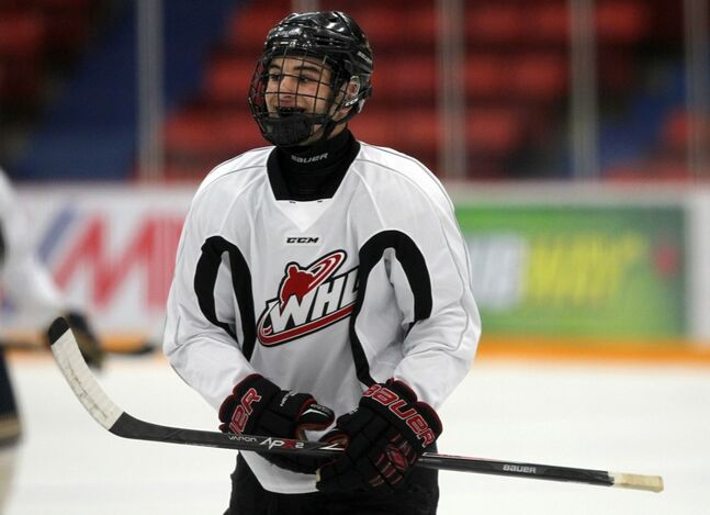 Wheat Kings rookie Stelio Mattheos was the No. 1 pick in the WHL bantam draft.