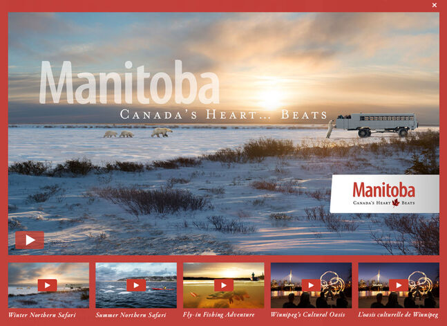 Travel Manitoba's newest catch phrase is 'Manitoba: Canada's Heart Beats.'