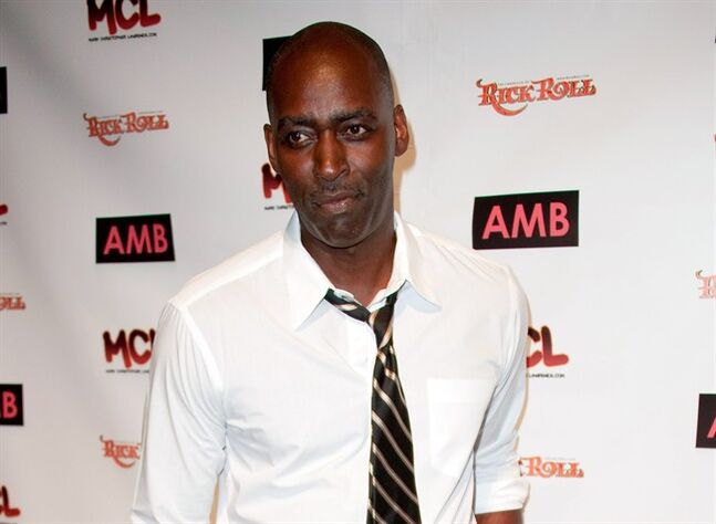 FILE - In this Oct. 6, 2012 file photo, actor Michael Jace attends WordTheatre presents Storytales at Ford Amphitheatre in Los Angeles. April Jace's family wrote in a statement released Thursday, May 29, 2014, that they were focused on providing for her three sons, who range in ages from 5 to 18. The family's statement also calls her death