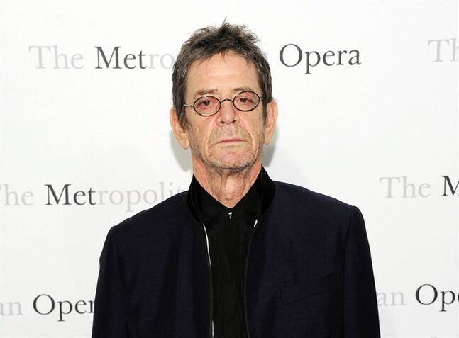 FILE - This March 24, 2011 file photo shows musician Lou Reed at the Metropolitan Opera's premiere of