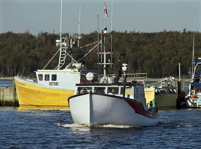 A fishing boat heads to dock in Eastern Passage, N.S. on Oct. 2, 2013. Statistics Canada says the country's unemployment rate fell to 7.0 per cent in July, from 7.1 per cent the previous month. THE CANADIAN PRESS/Andrew Vaughan