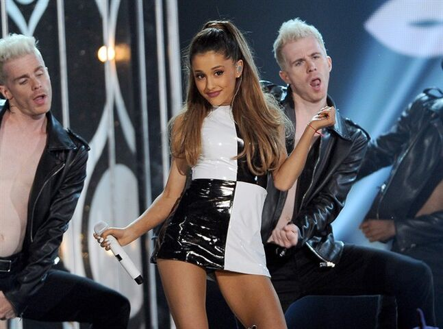 Ariana Grande performs May 18, 2014, in Las Vegas. THE CANADIAN PRESS/AP, Chris Pizzello/Invision