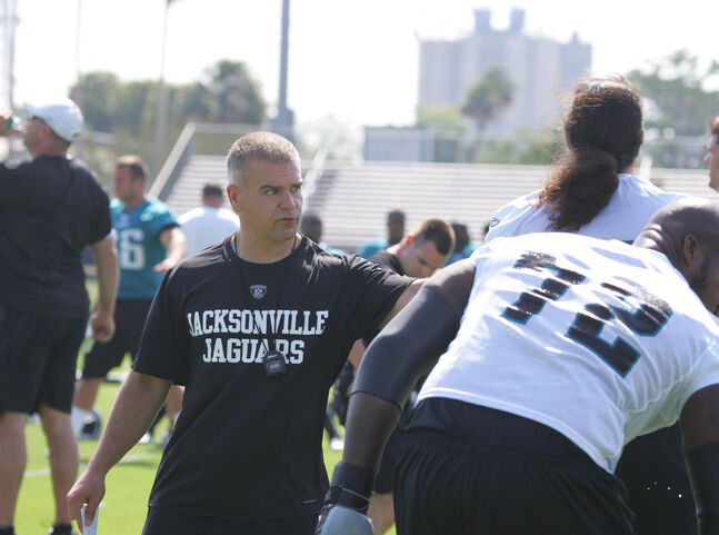 Jason George was also a strength and conditioning coach with the Jacksonville Jaguars from 2009-11.