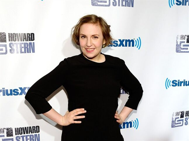 FILE - In this Jan. 31, 2014 file photo, actress Lena Dunham attends