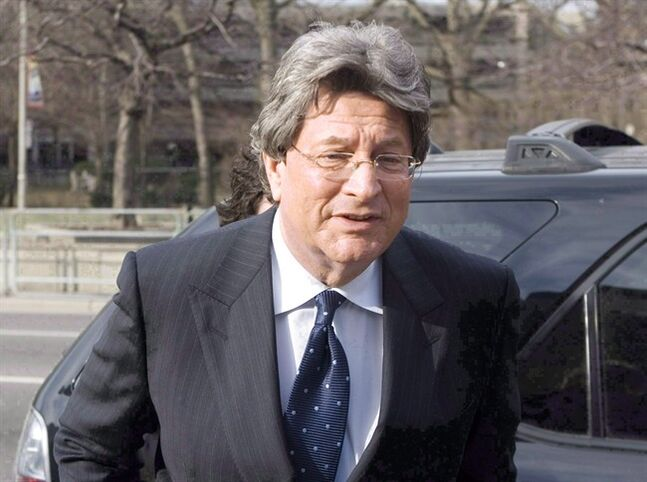 Disgraced theatre mogul Garth Drabinsky is shown in Toronto on March 25, 2009. Drabinsky will serve the last two years of his fraud sentence at home with his family after the Parole Board of Canada granted him full parole Monday. THE CANADIAN PRESS/Chris Young