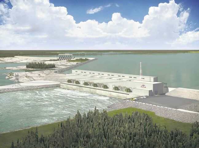 Manitoba Hydro spent $1.4 billion on the Keeyask dam project before getting full regulatory approval. The province issued a licence for the dam Wednesday.