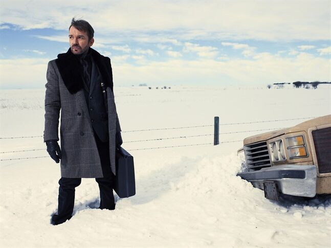 Billy Bob Thornton stars in '��Fargo'�� on FXX Canada. The Calgary-shot production scored 18 Emmy nominations Thursday. THE CANADIAN PRESS/ HO-FX/Matthias Clamer