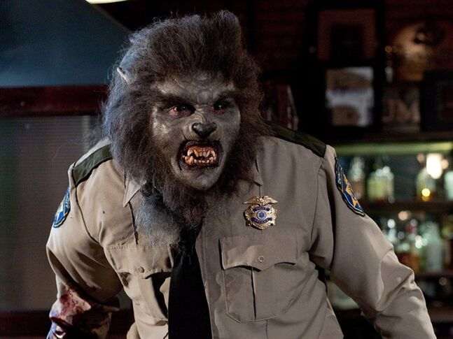 A scene of Wolfcop is pictured in a handout photo. THE CANADIAN PRESS/HO, CineCoup