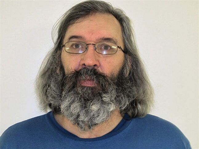 Michael Cooper, 55, is shown in a police handout photo. Halifax police are warning all Nova Scotia residents about Cooper, a man who is deemed a high risk to re-offend after serving a seven-year sentence for impaired driving causing death. THE CANADIAN PRESS/HO-Halifax Regional Police
