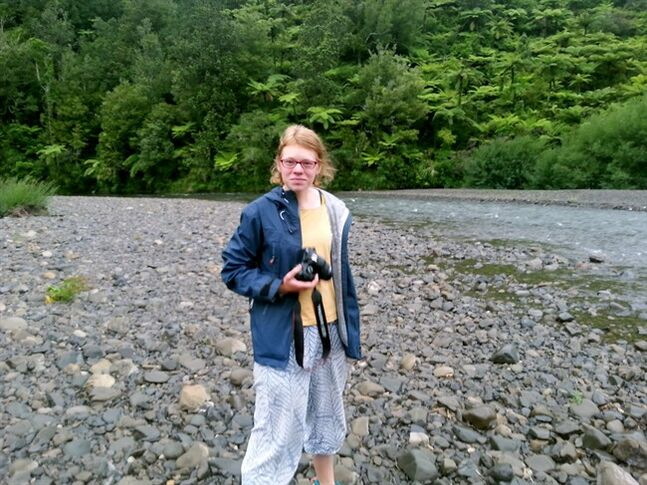 This Dec. 30, 2013 photo released by New Zealand Police, shows 19-year-old German tourist Lea Tietz in New Zealand. Three German nationals, including Tietz, are missing off the coast of New Zealand after their sailboat vanished. Police said Tuesday, April 29, 2014 that an aerial search had ended after turning up no sign of the 7.5-meter (25-foot) craft Munetra. The boat's last communication was April 16 when it left the South Island port of Bluff bound for Preservation Inlet. (AP Photo/New Zealand Police)