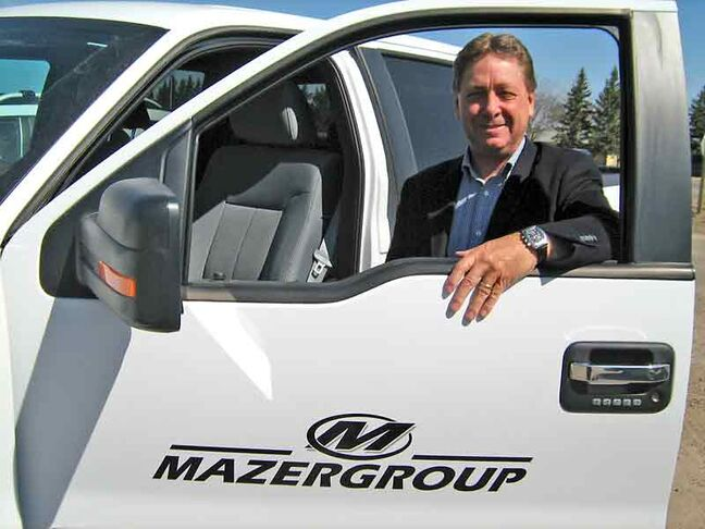 Bob Mazer of Mazergroup was named dealer of the year at last week's Canada West Equipment Dealers Association meetings in Winnipeg.