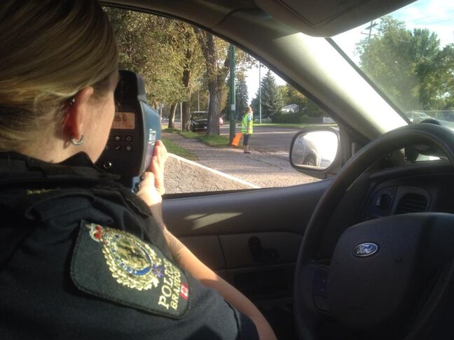 Brandon police are monitoring school zones today, as kids head back to class. New speed limits took effect on Sept. 1, reducing traffic to 30 km/h near most schools in Brandon.