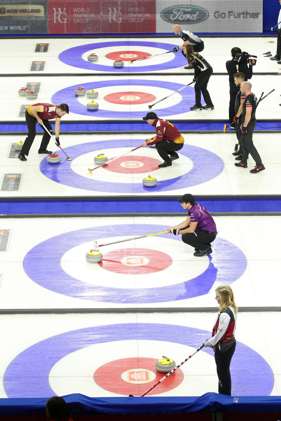 The afternoon draw of the Home Hardware Canada Cup of Curling takes place on Wednesday.