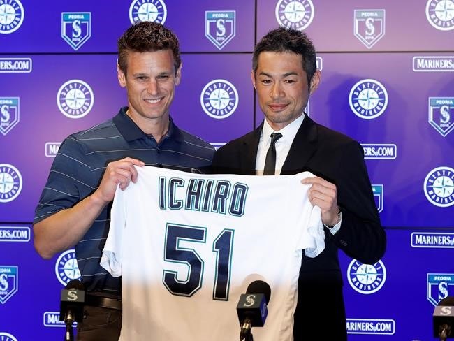 Ichiro Suzuki, 44, signs one-year deal to return to Seattle Mariners