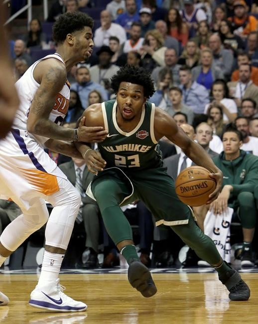 Bucks rule Giannis Antetokounmpo out against Suns
