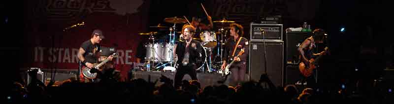 Los Angeles-based rock band, Buckcherry, is just one of the major acts to grace the stage at Houstons.
