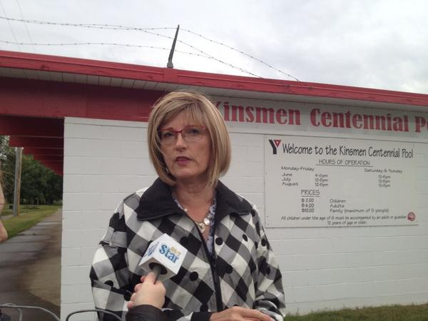 Brandon mayor Shari Decter Hirst said she would ask council to make pool funding a priority.