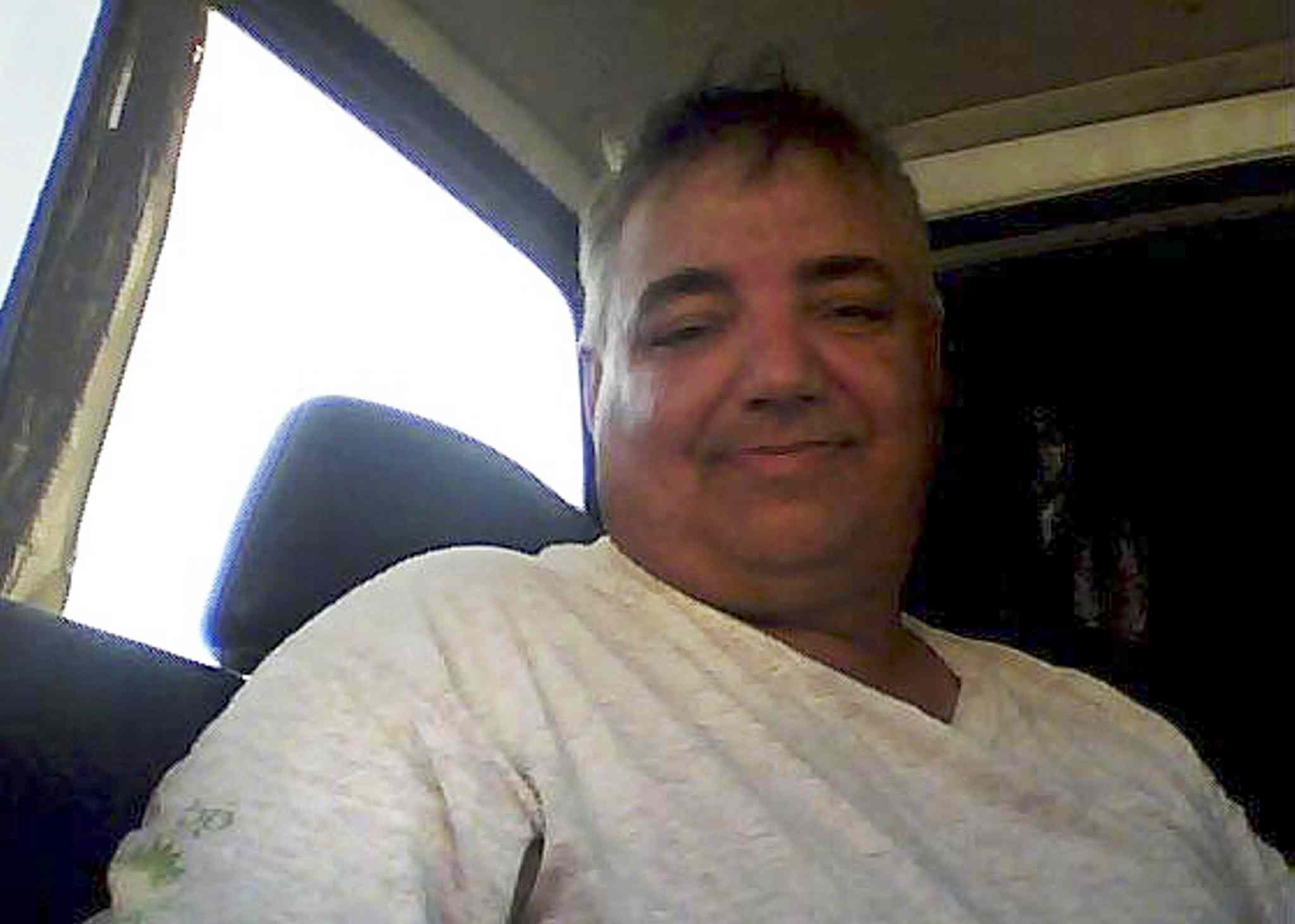 Cliff Malnyk's body was found in his burned-out house on Bloodvein early Saturday.