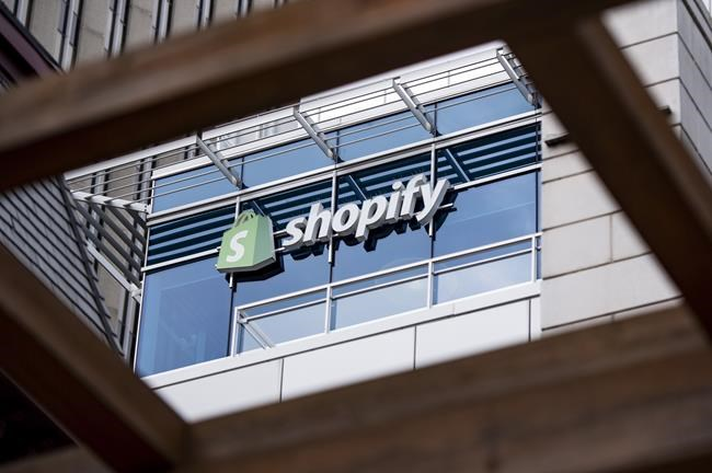 The Ottawa headquarters of Canadian e-commerce company Shopify are pictured on Wednesday, May 29, 2019. THE CANADIAN PRESS/Justin Tang