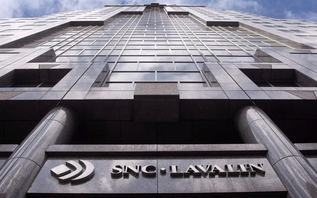 The offices of SNC Lavalin are seen in Montreal on Monday, March 26, 2012. THE CANADIAN PRESS/Ryan Remiorz