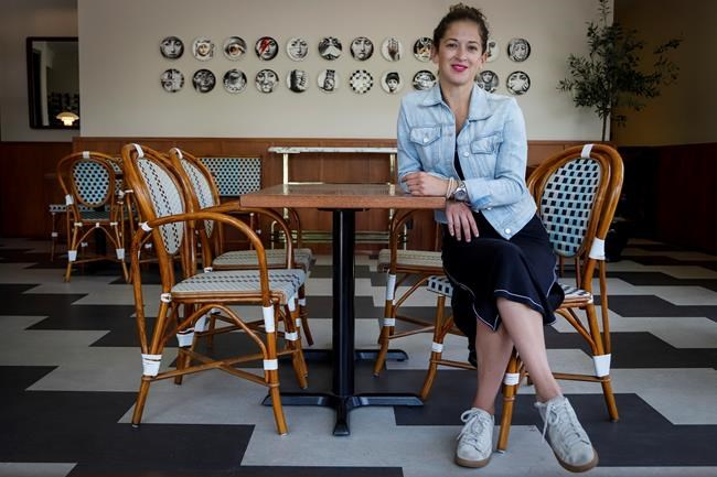 Annabelle's Kitchen owner Leslie Echino poses for a photo at her restaurant in Calgary on Thursday, June 11, 2020.THE CANADIAN PRESS/Jeff McIntosh