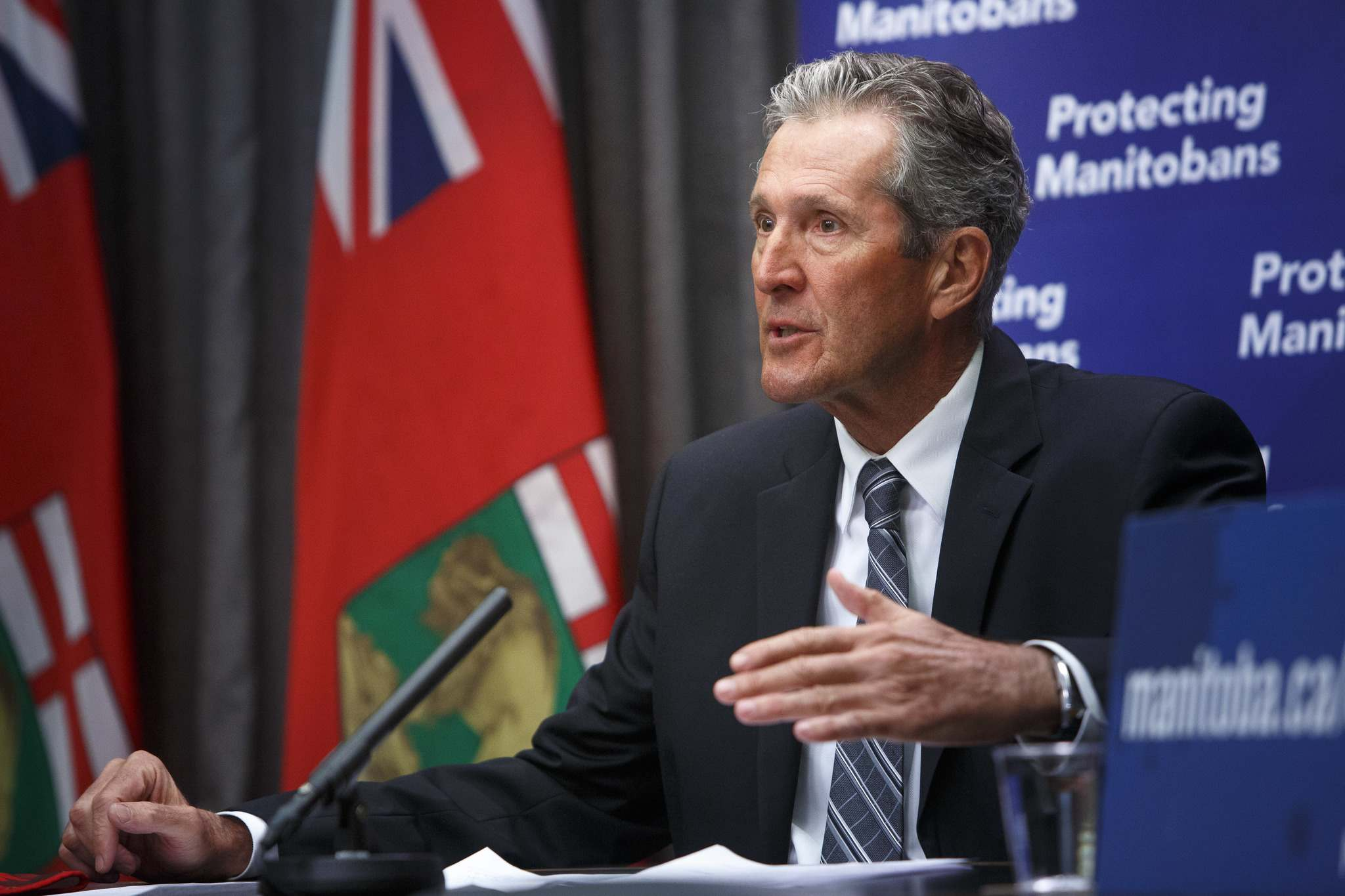 Premier Brian Pallister announced Thursday that the provincial government has chosen Xplornet Communications to expand high-speed internet and cellular access to rural and northern communities. Under the deal, approximately 125,000 more people will now have access to high-speed internet. (Winnipeg Free Press)</p></p>