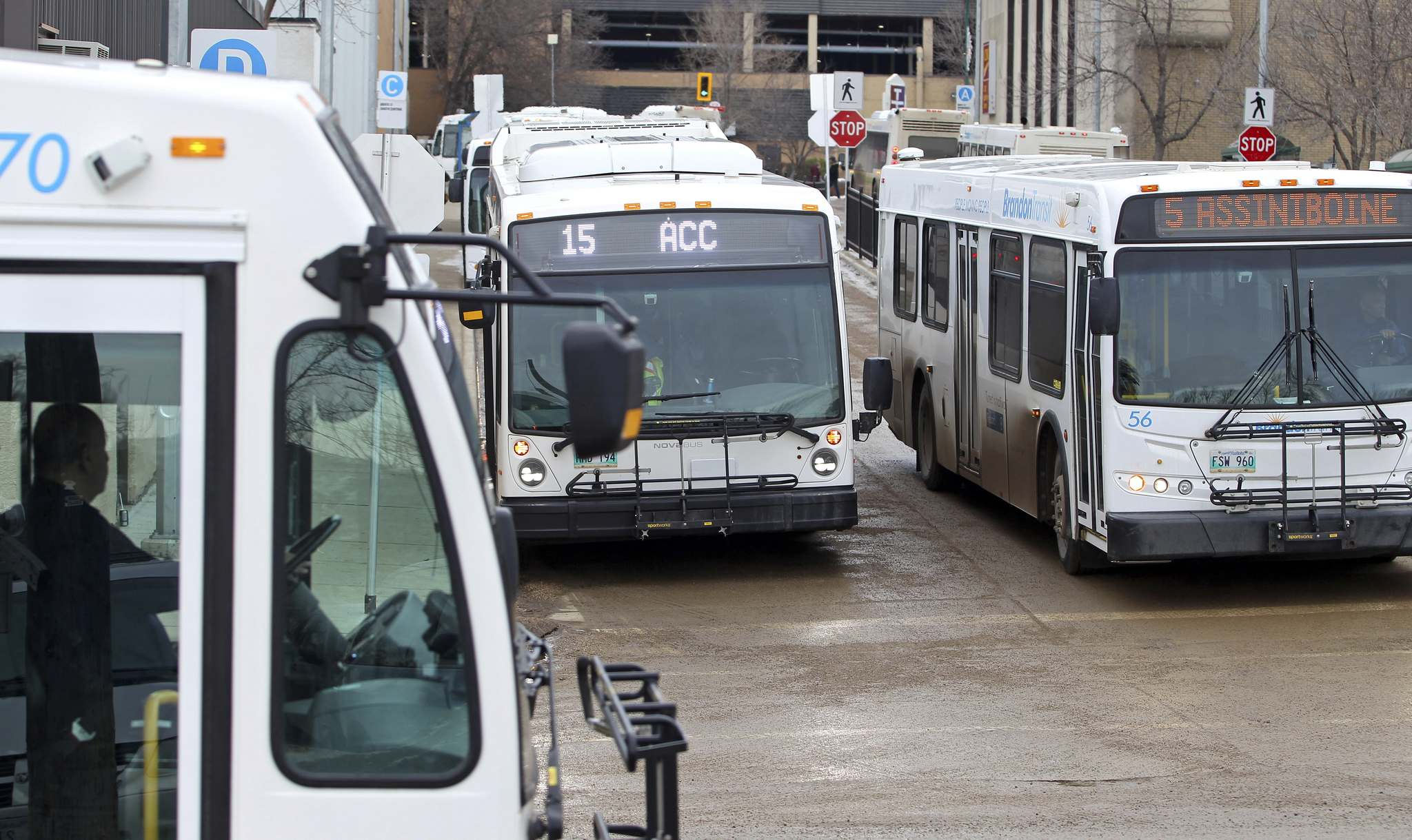 Brandon Transit riders could soon be able to request a ride whenever they need one after the city released a request for proposals in May. It's not decided whether the buses that pick people up would be traditional city buses or Access Transit buses. (File)</p></p>