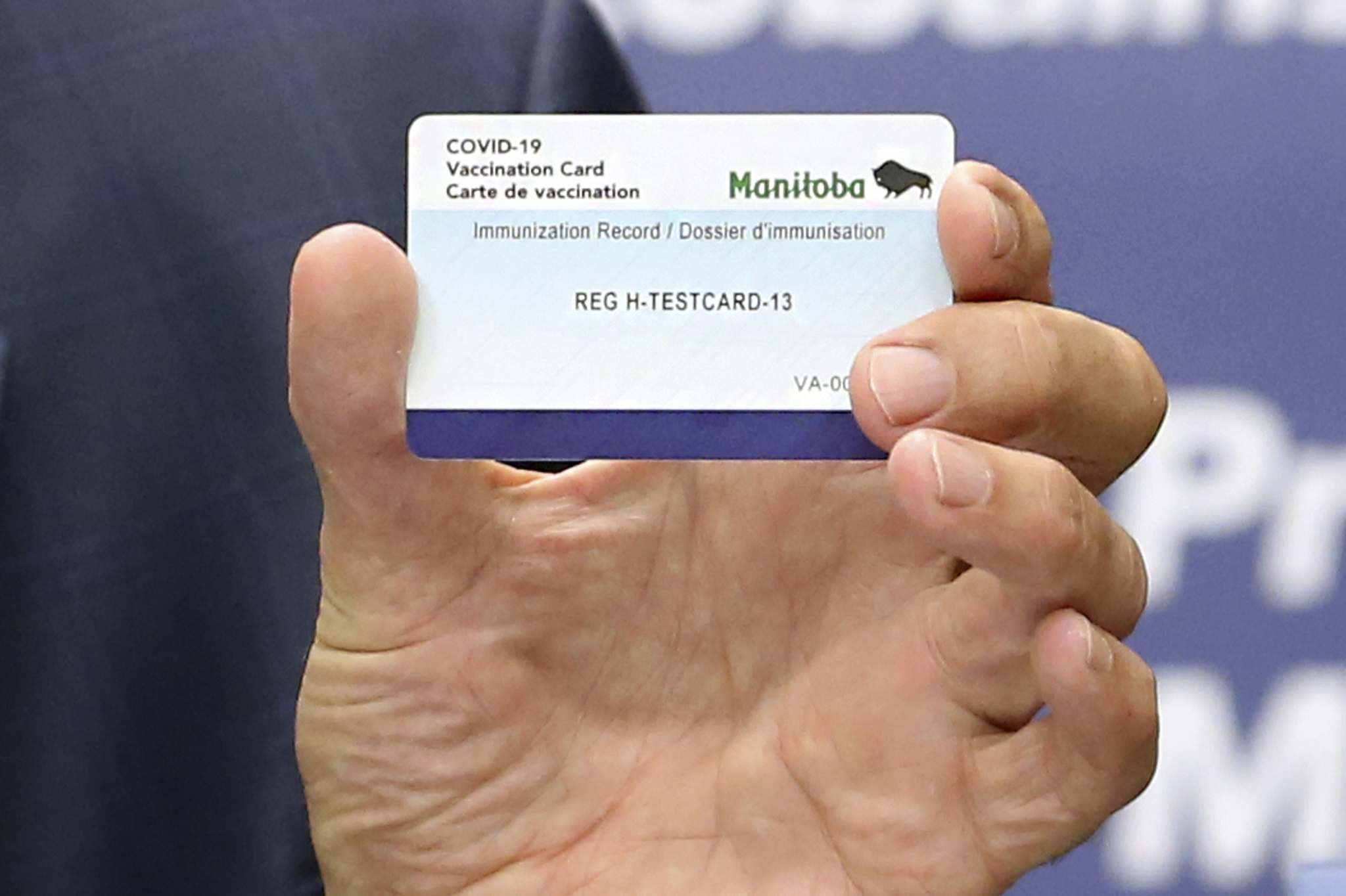 While the province is promoting the vaccination card and QR system for Manitobans, cross-border travel could be impacted if residents try to use this system to re-enter the province from the U.S. (Submitted)