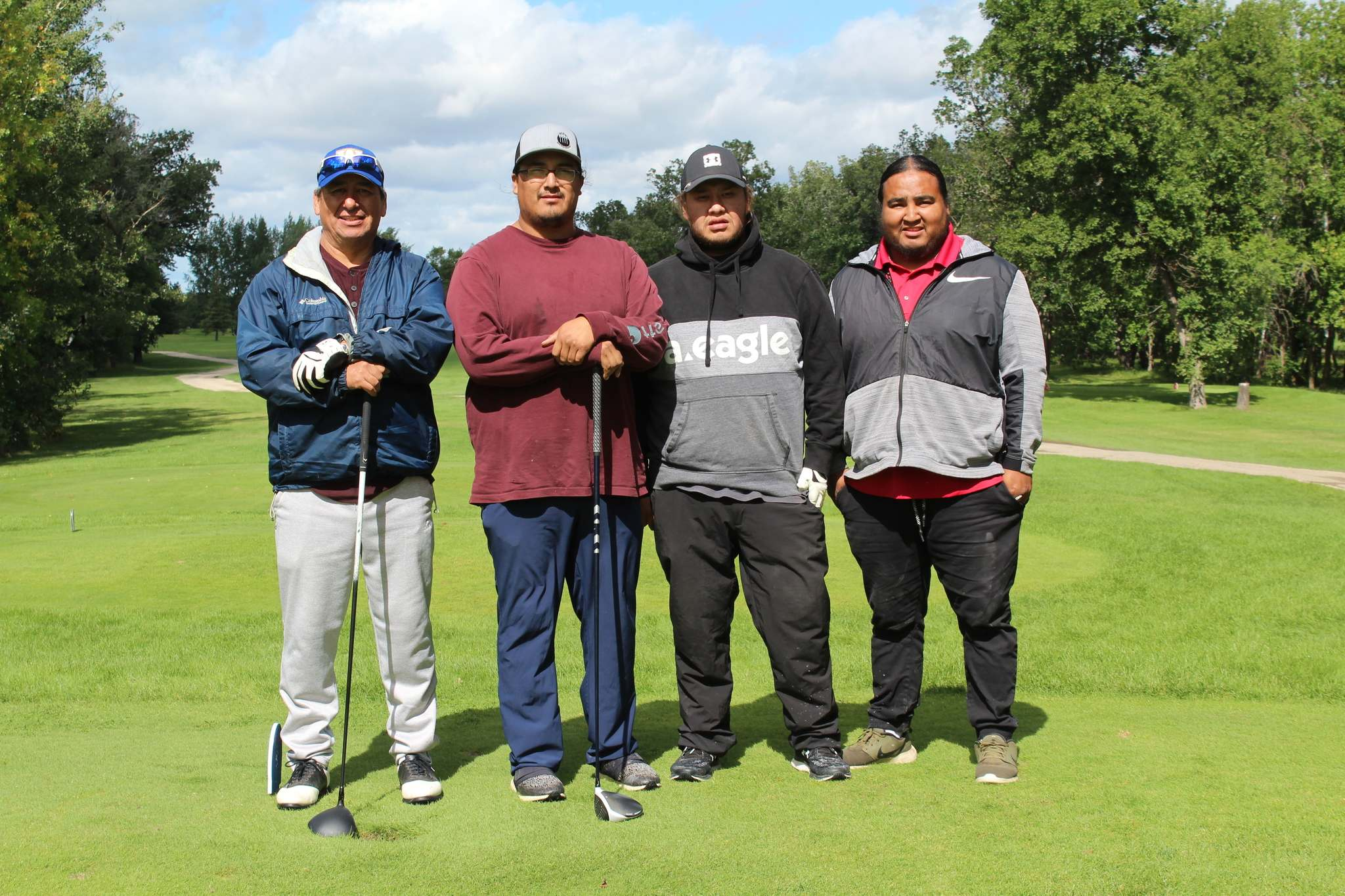A team from Birdtail Sioux First Nation played at the third annual golf tournament hosted yesterday by the Southern Chiefs' Organization. (Submitted)
