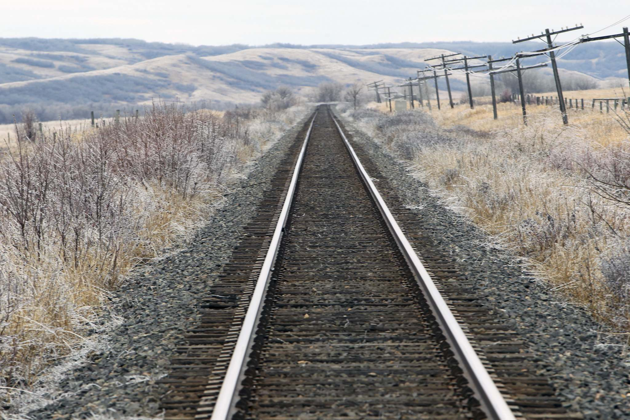 Birdtail Sioux Dakota First Nation Chief Ken Chalmers may be forced to take legal action to suspend traffic on the CN rail line running through his community if the federal government continues to stall on core-treaty talks. (File)</p></p>