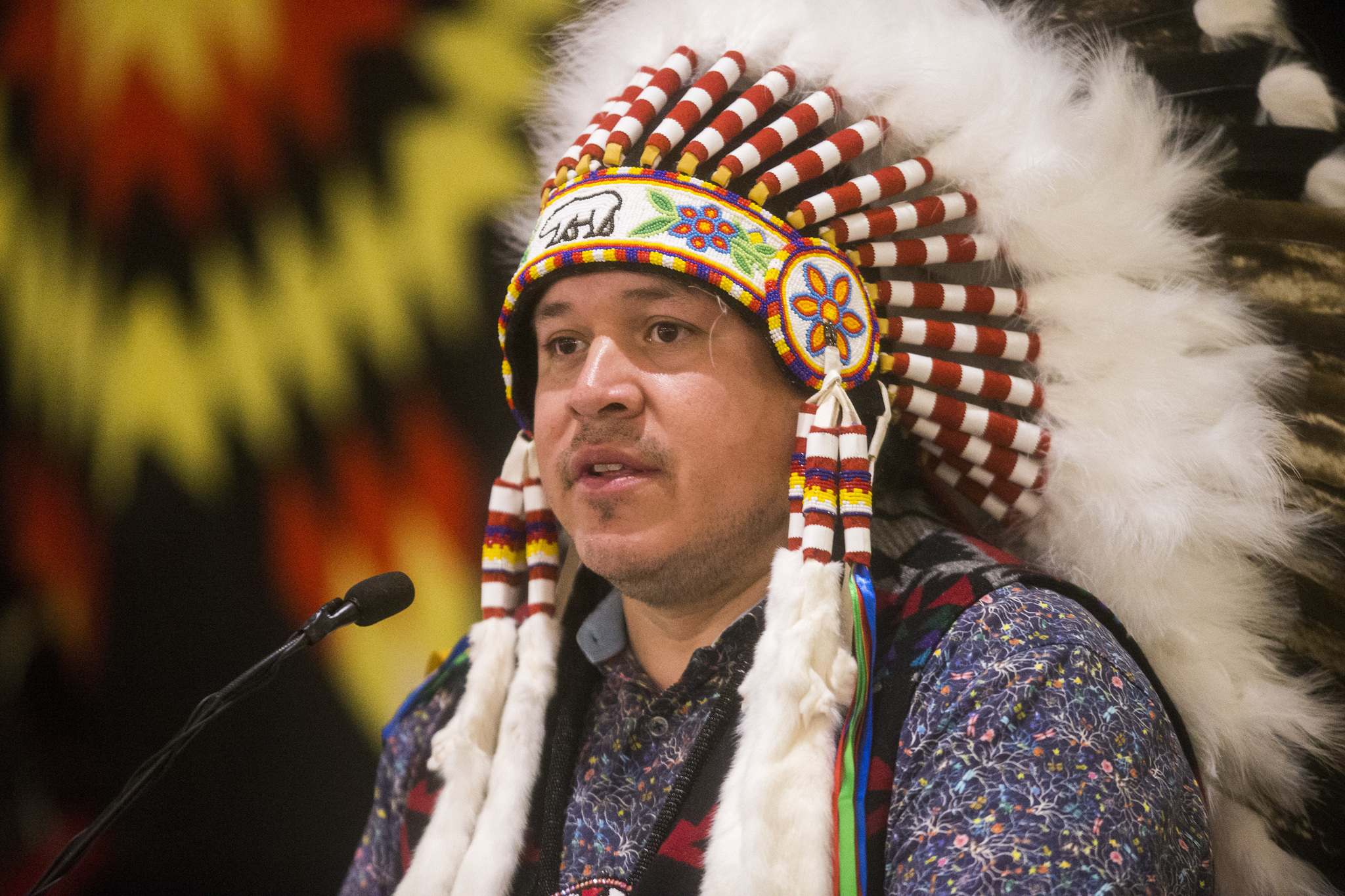 Grand Chief Jerry Daniels</p></p>