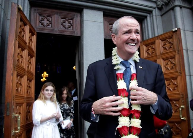 Democrat Phil Murphy becomes New Jersey governor