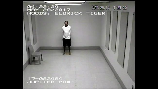 Dashcam footage of Tiger Woods' DUI arrest released by police