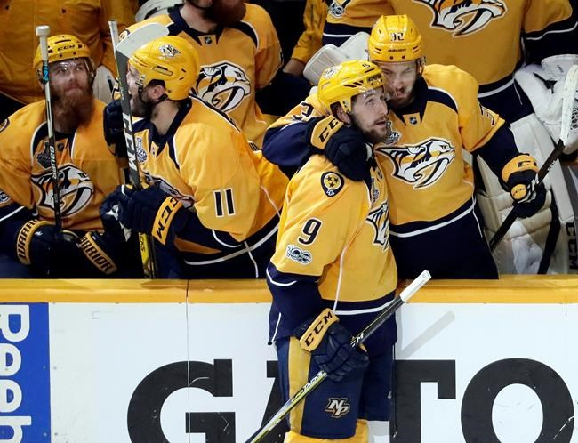 Wilson could return for Predators in Game 5 of Cup Final