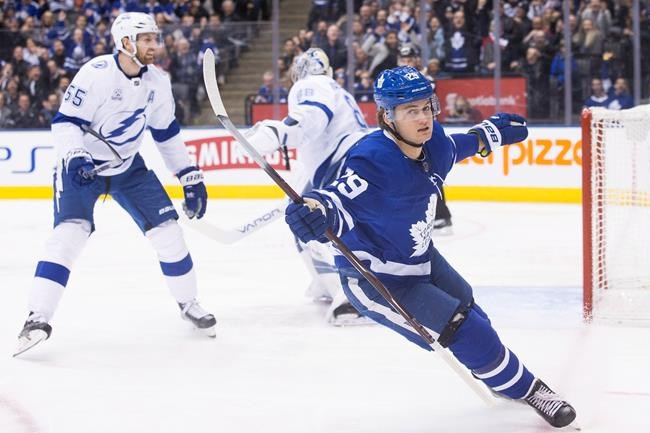 Soshnikov not ready after stint, remains on IR ; Leafs vs. Lightning