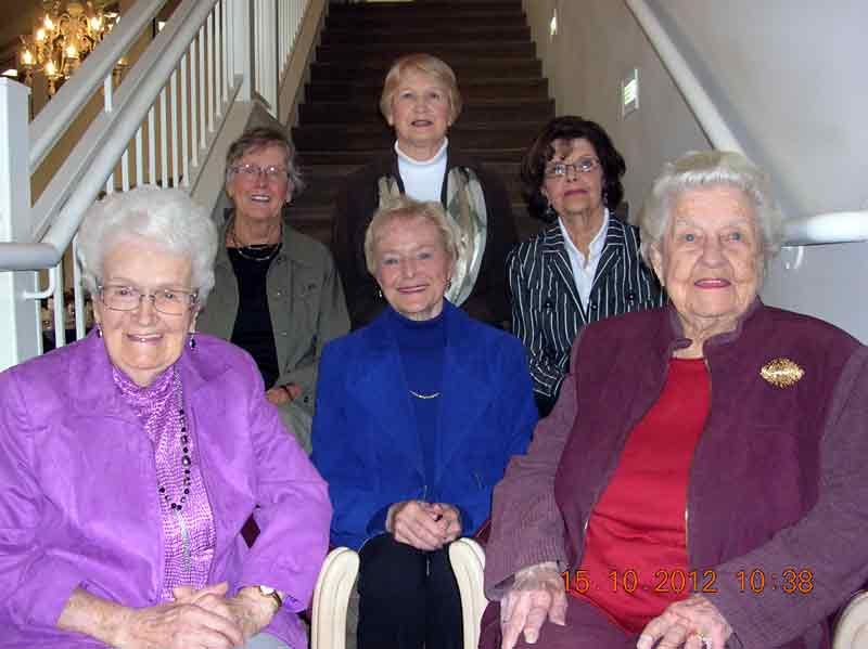 Meet six of the eight Honorary Life Members of the Brandon Ladies Golf League, honoured at a recent luncheon for their long service and dedication to the league. Front row (L-R): Grace Lindenberg, Shirley Bray, Mary Donovan; back row: Anne Cowie, Alex Town and Mary Adams. Two members were named posthumously — Isobelle Ferguson (2010) and Doreen Hatch (2011).